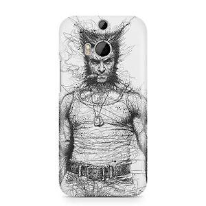 Wolverine-Etui-pour-Telephone-Pencilled-Fermeture-Gribouillage-Art-Housse
