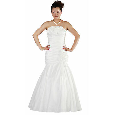New Ivory Wedding Evening Prom Dress UK Size 8-16,EU38-46,US6-14 UK STOCK