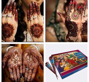 2 Natural Kaveri Henna Indian Arabic Henna Mehndi Tattoo Cones Fast