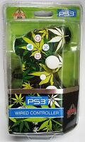 Arsenal Wired Usb Game Controller For Sony Ps3 Leaf In Original Box