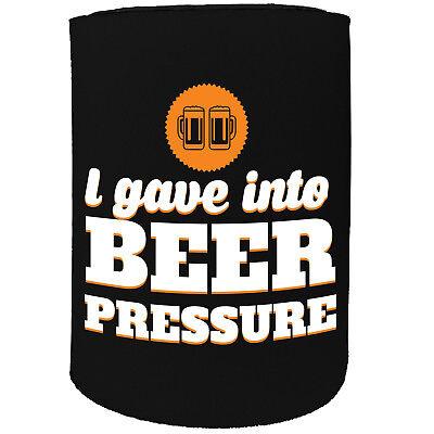 Funny Novelty Birthday Gift Joke Beer Can Stubby Holder Mouths Glasses