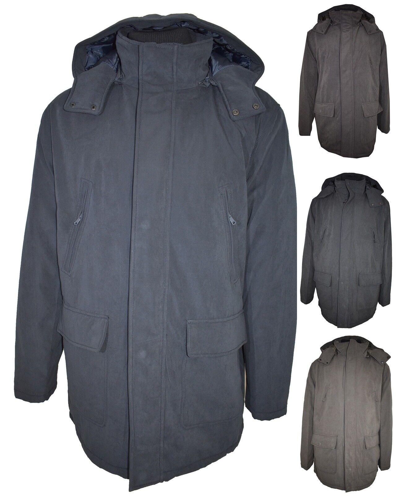 Giubbotto giaccone invernale da uomo giubbino taglie forti 3xl 4xl 5xl 6xl 7xl a