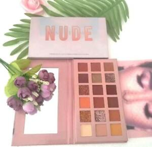 The New Nude Palette d'Ombres à Paupières style Huda beauty