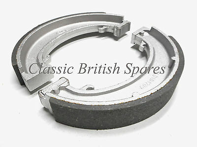 "Triumph Pre-Unit & Unit Twins Rear Brake Shoe Set 7"" 37-1406 37-1407 T120 6T TR6"
