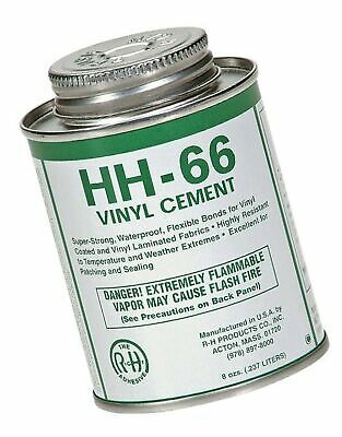 8 New Pig PTY105 RH Adhesives HH-66 Industrial Strength Cement Glue with Brush