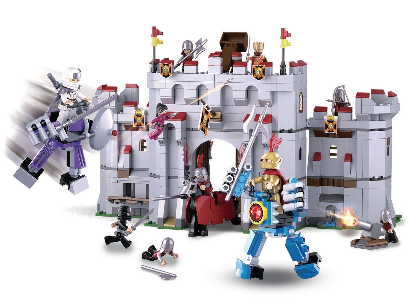 Legend Warriors Fantasy The Castle medieval Figures Compatible Building Bricks
