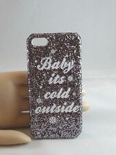 Icing Cell Phone Case Christmas Baby is Cold Outside Bling Iphone 5 USA SELLER