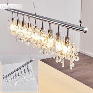Luxus Pendel Lampen Kristall Hänge Leuchten Ess Tisch Wohn Zimmer Beleuchtung