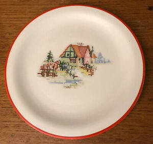 Crooksville-Pantry-BAK-IN-By-Ware-Petit-Point-House-10-Plate