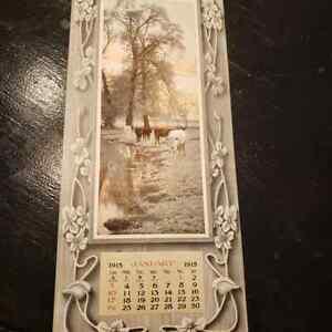 "1915 Salesman sample calendar- "" Homeward Bound """