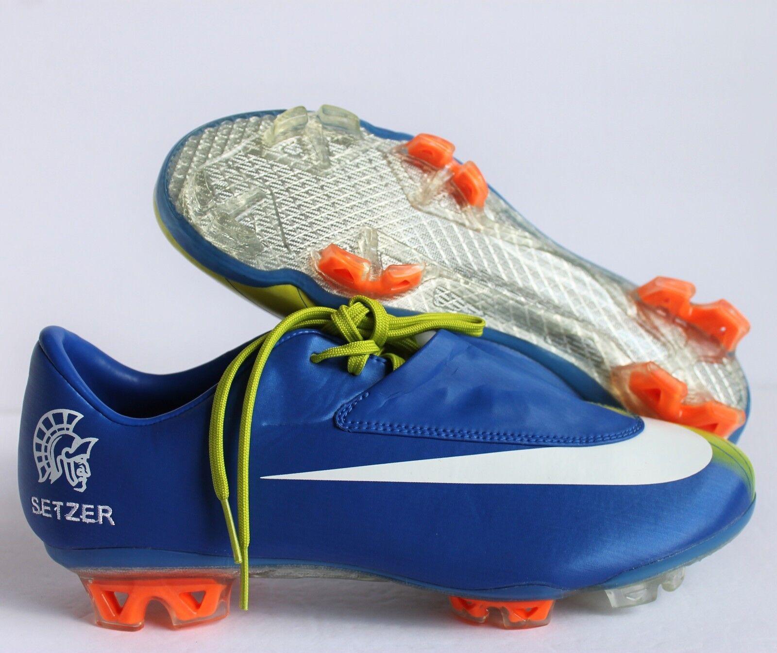 Nike Id Calcio Donne Volubile Scarpini Da Calcio Id Blu Sz 8 532505