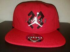 "Nike Jordan Retro 6 OG Gym Red ""Hare"" Snapback Hat Cap BNWT"