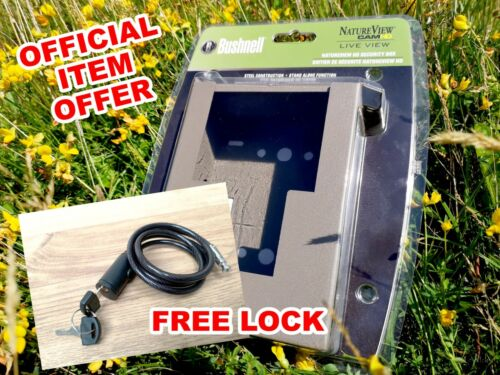 FREE padlock for Natureview 119740 Bushnell Natureview HD security box 119755