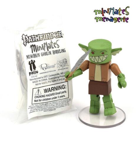 Pathfinder Minimates GenCon Exclusive Munchkin Goblin Hireling Sealed Promo Bag