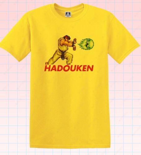 HADOUKEN KIDS CHILDRENS HOODY HOODIE FUNNY STREET FIGHTER GAMER TOP BOYS COOL