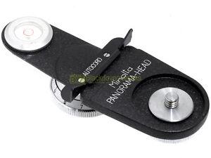 Minolta-Panorama-Head-testa-panoramica-per-fotocamere-biottica-Autocord