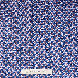 Patriotic-Fabric-Honor-amp-Glory-Red-White-Blue-Hats-Windham-Cotton-Yd