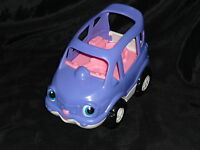 Fisher Price Little People House Car Van Vehicle Sounds Purple