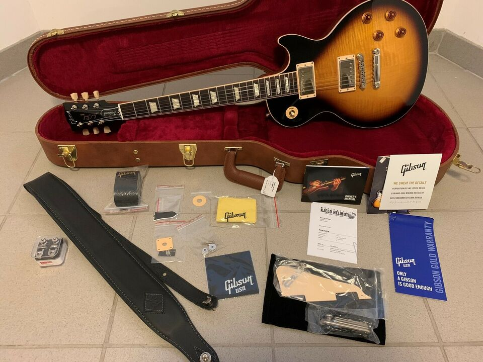 Gibson Les Paul Traditional 2019 Tobacco Burst