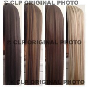 UK-Claw-Clip-Ponytail-Hair-Extension-Straight-Thick-Long-Like-REAL-HAIR