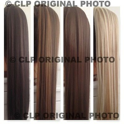 Intelligent Uk Claw Clip Ponytail Hair Extension, Straight, Thick, Long, Like Real Hair. Komplette Artikelauswahl