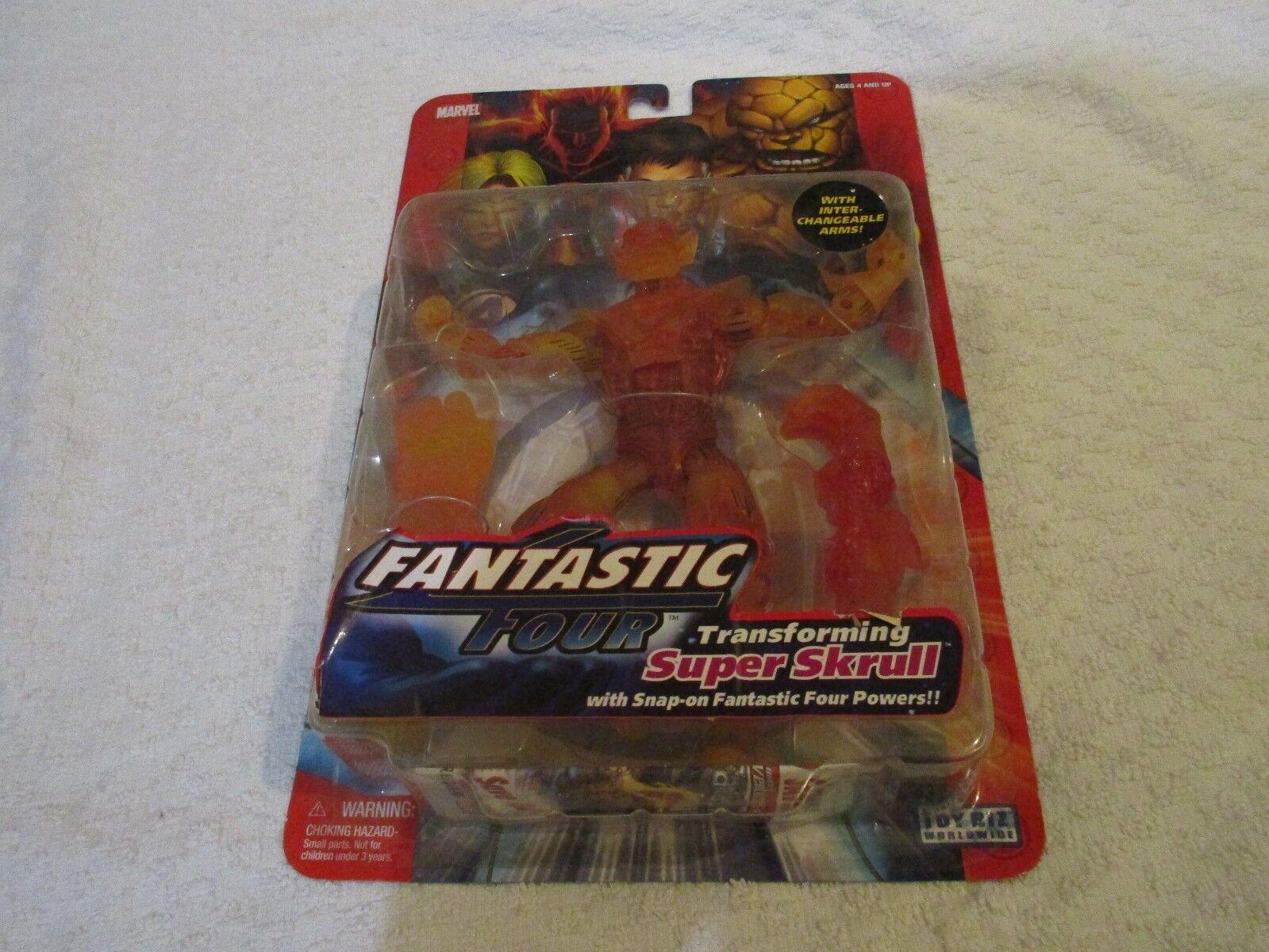 Fantastic Four Classics Series 1 Transforming Super  Skrull Chase Variant Fire  designer en ligne