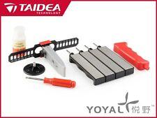 Taidea 4 Stone Diamond Knife Sharpening System Kit 360 / 480 / 600 / 800 Grits