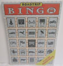 "Knock Knock Road Trip Bingo Set Contains 12 Bingo Cards 6/"" X 9/"""