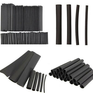 127Pcs Adhesive Lined Heat Shrink Sleeving 2:1 Weatherproof Heatshrink Tubi_d_es