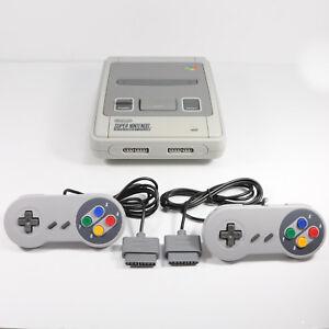2-SNES-Super-Nintendo-Nuevo-Repuesto-control-Almohadilla-Controladora-Conector-Original