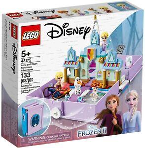Lego-Disney-Frozen-II-43175-Anna-amp-Elsa-039-s-Storybook-Adventures-New-Building-Set
