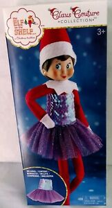 The Elf on the Shelf Claus Couture Plum Party Dress