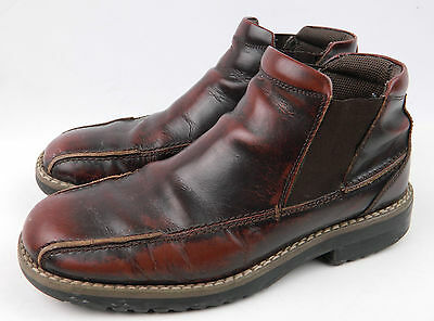 Nunn Bush Nxxt Men S Side Zip Ankle Boots Distressed