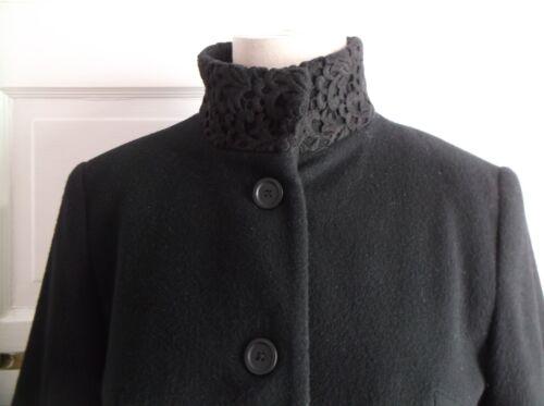 Missy dentelle en laine col Veste laine montant Ensemble 8 en à zTnZn0W