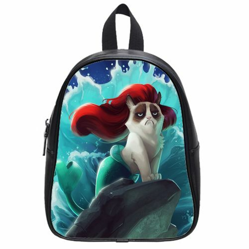 74541699f7 Brand New Funny Grumpy Cat High Quality Kid s School Bag Durable Backpack