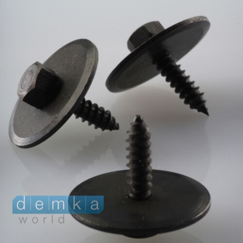 20 xmercedes-benz 5x18x26mm 2019900536 hexagonal chapa leistenbefestitung tornillo