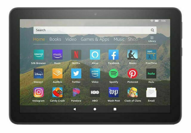 Amazon Fire HD 8 (10th Generation) 32GB, Wi-Fi, 8in - Black
