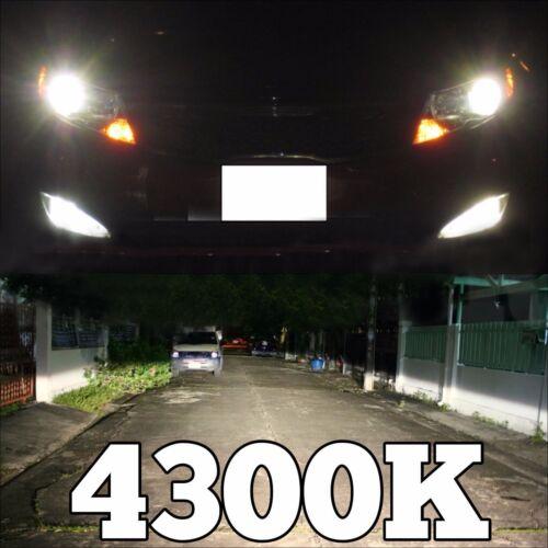 HID FOG LIGHTS 35W H11 Bulb AC Slim Ballast XENON Conversion kit R31 L 12000K