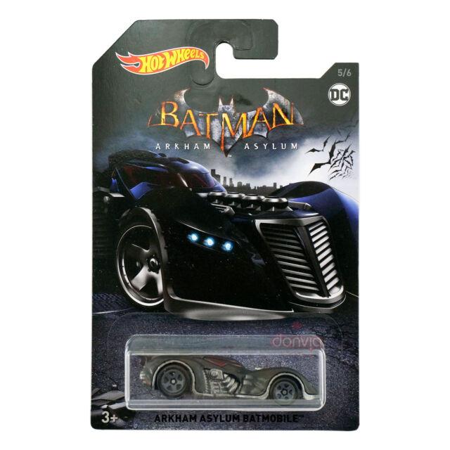 Hot Wheels DC Batman Arkham Asylum Batmobile Die-Cast #5/6