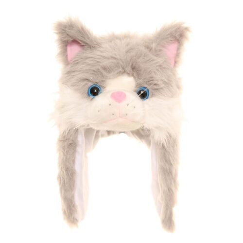 2 sizes FREE fast post 1st class 8 designs CHILDS//ADULTS FURRY ANIMAL HATS