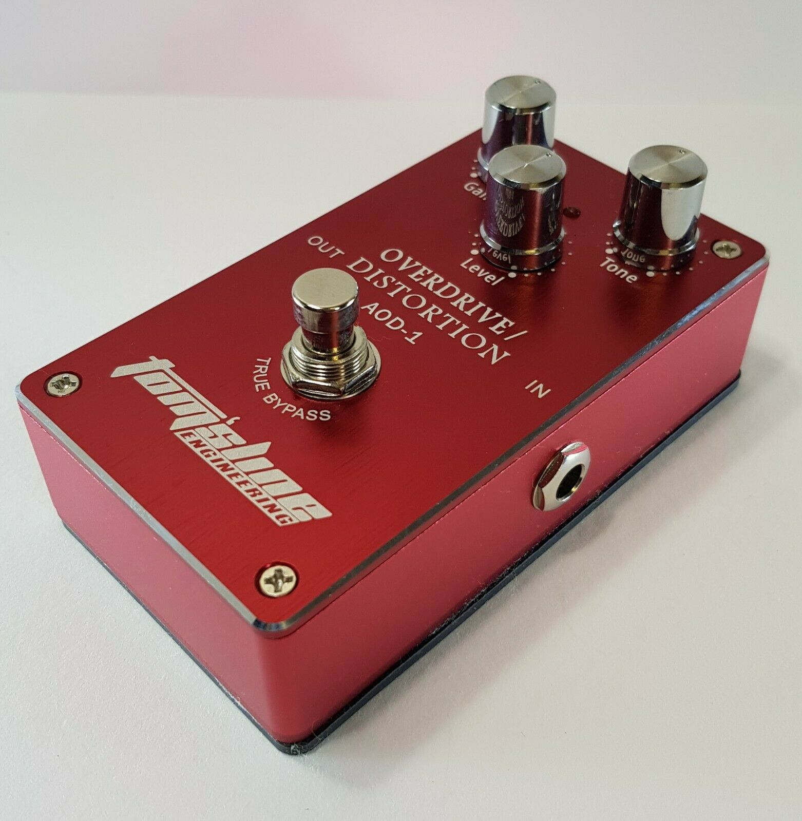 Brand New AOD-1 Overdrive and Distortion Guitar Effects Pedal. UK Stock. Boxed.