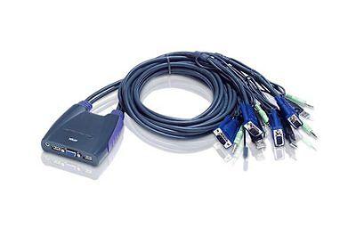 Aten Petite 4 Port USB VGA KVM Switch