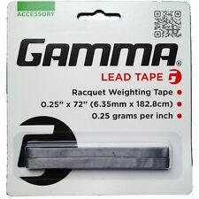 Gamma Lead Tape Tennis Badminton Squash Racquet Weighting