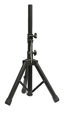 Leuk Genuine Njs Black 35mm Short Adjustable Light Aluminium Pa Tripod Speaker Stand Kortingen Sale