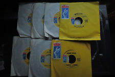 STAX SOUL LOT 6 great 45's unplayed Booker T Eddie floyd Johnny taylor