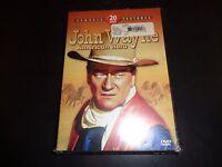 John Wayne 20 Movie Pack 4 Disc Pack Dvd 2005 4-disc Set & Factory Sealed