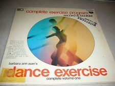 BARBARA ANN AUER DANCE EXERCISE COMPLETE w/Booklet LP EX Gateway GSLP7508 1980