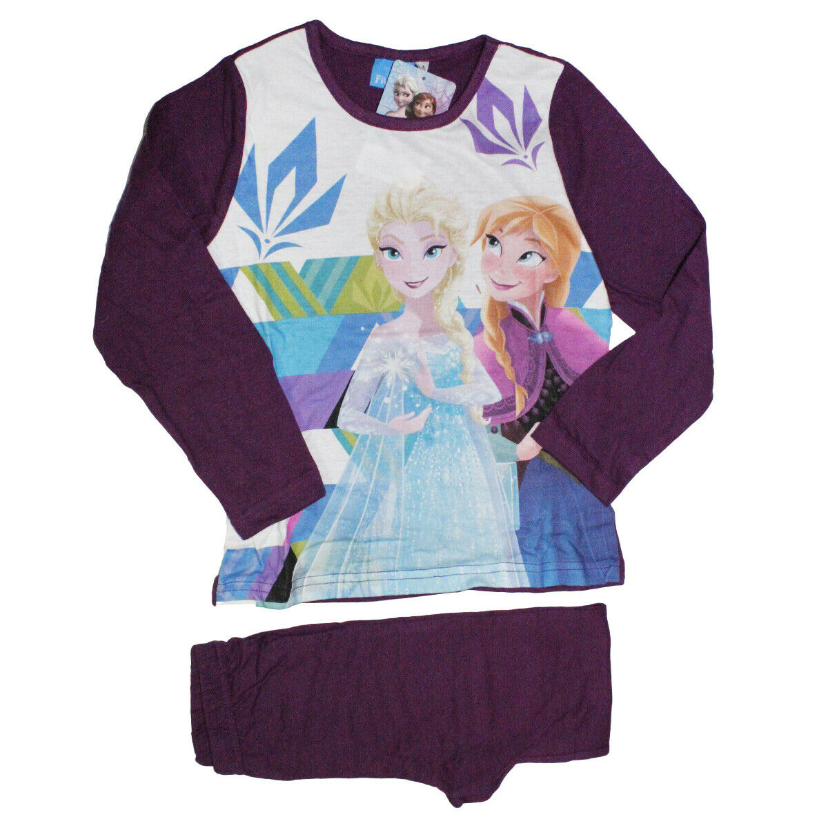 Disney Frozen grigio Il regno di ghiaccio Ragazze Maglietta maniche lunghe