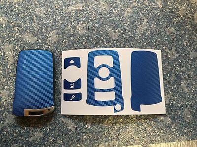 Carbon Gold Schlüssel Folie BMW Key 3-Tasten E67 5er E67  6er 7er E65 E66 E M