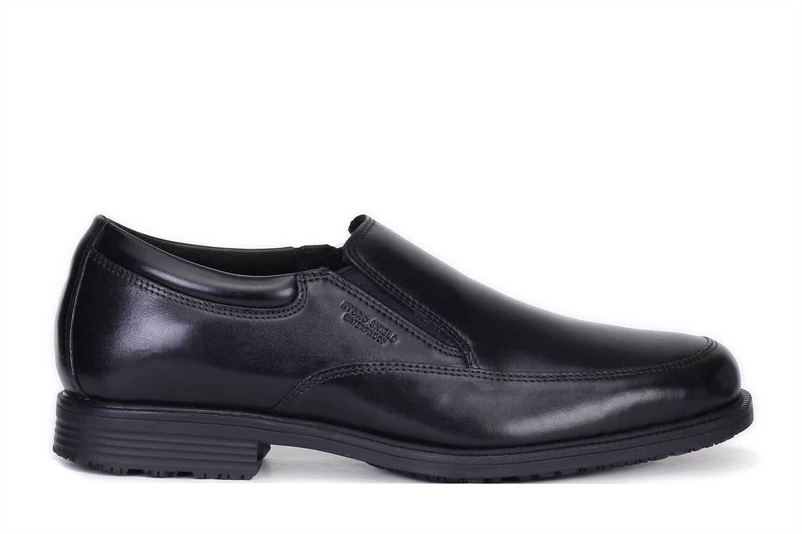 100% nuovo di zecca con qualità originale Rockport Rockport Rockport Uomo Essential Details Waterproof Slip On scarpe nero V75100  ampia selezione